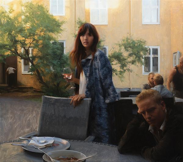 Nick Alm - courtyard