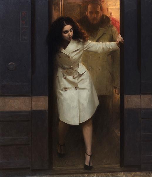 Nick Alm - holding doors