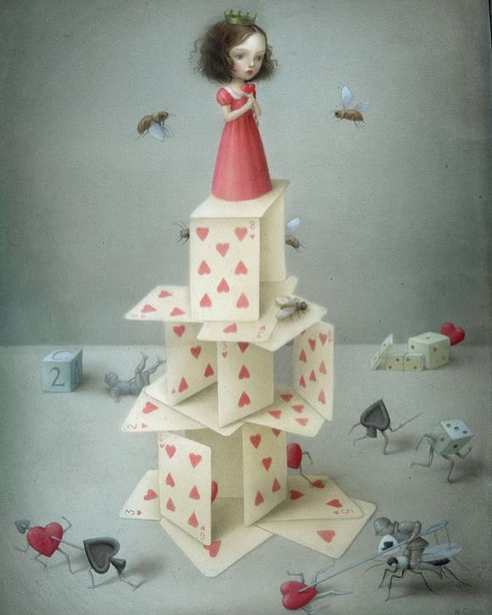Nicoletta Ceccoli - Card Castle