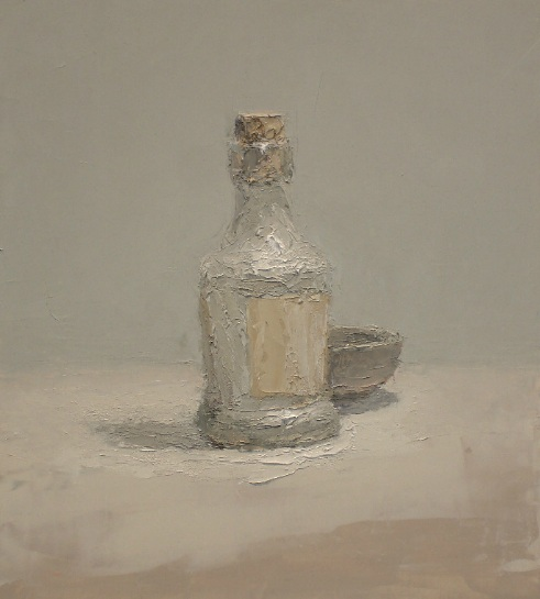 Brian Blackham - Bottle with cork, Bowl