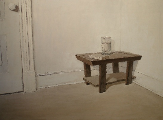 Brian Blackham - Corner, Table, Glass
