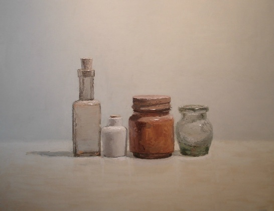 Brian Blackham - Metal lid, White bottle