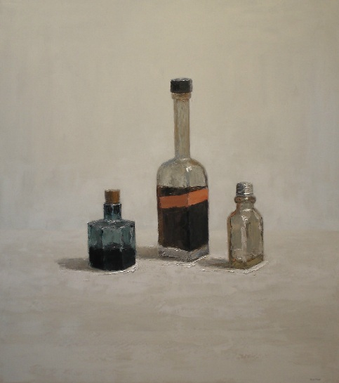 Brian Blackham - Red label, Ink jar