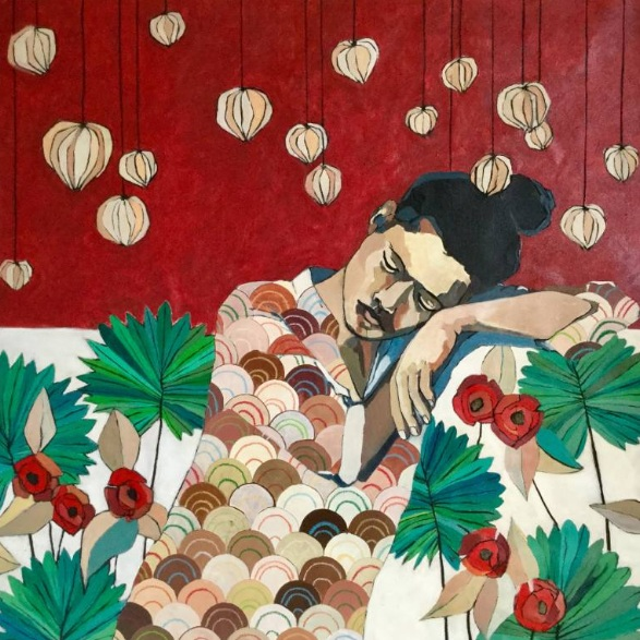 Josie Gallagher - Sleeping with palms and tomatillos