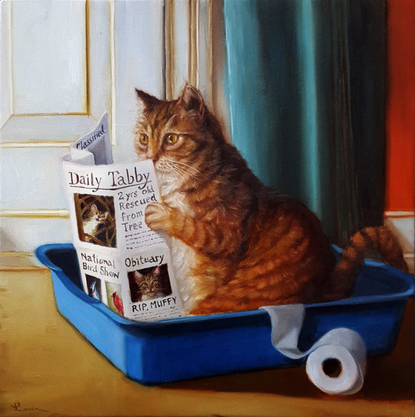Lucia Heffernan - CAT ON A THRONE