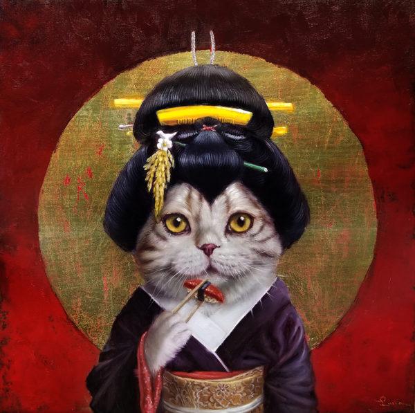 Lucia Heffernan - KYOTO KITTY