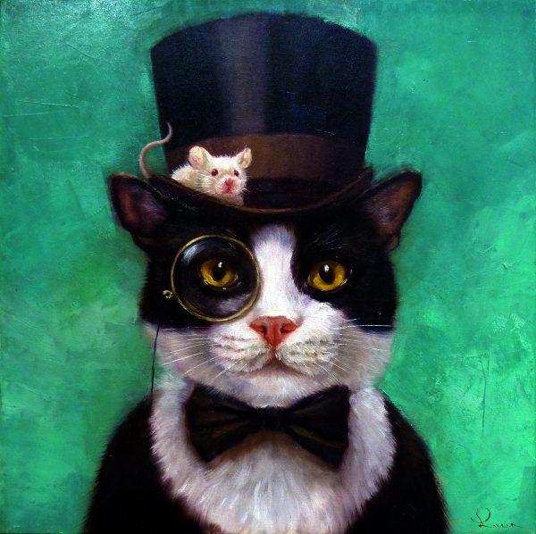 Lucia Heffernan - TUXEDO CAT