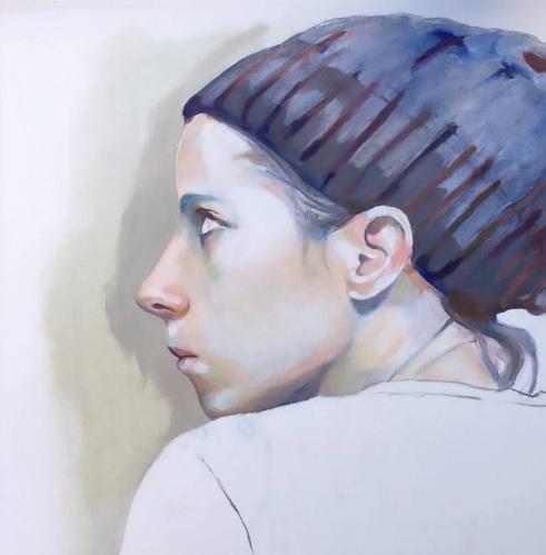Sophie Leblanc - Selfportrait
