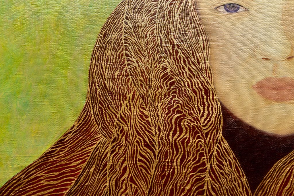 Yuliia Ustymenko - Goldilocks. Detail