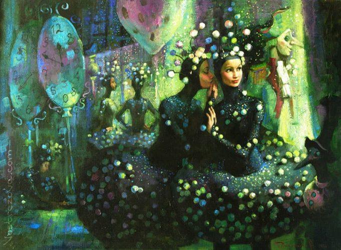 Anastasia Vostrezova - Snowflakes.'The Nutcracker' Ballet Directed by M.M. Shemyakhin