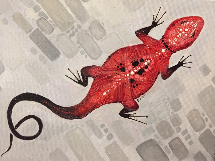 Eva Panchenko - Red Lizard