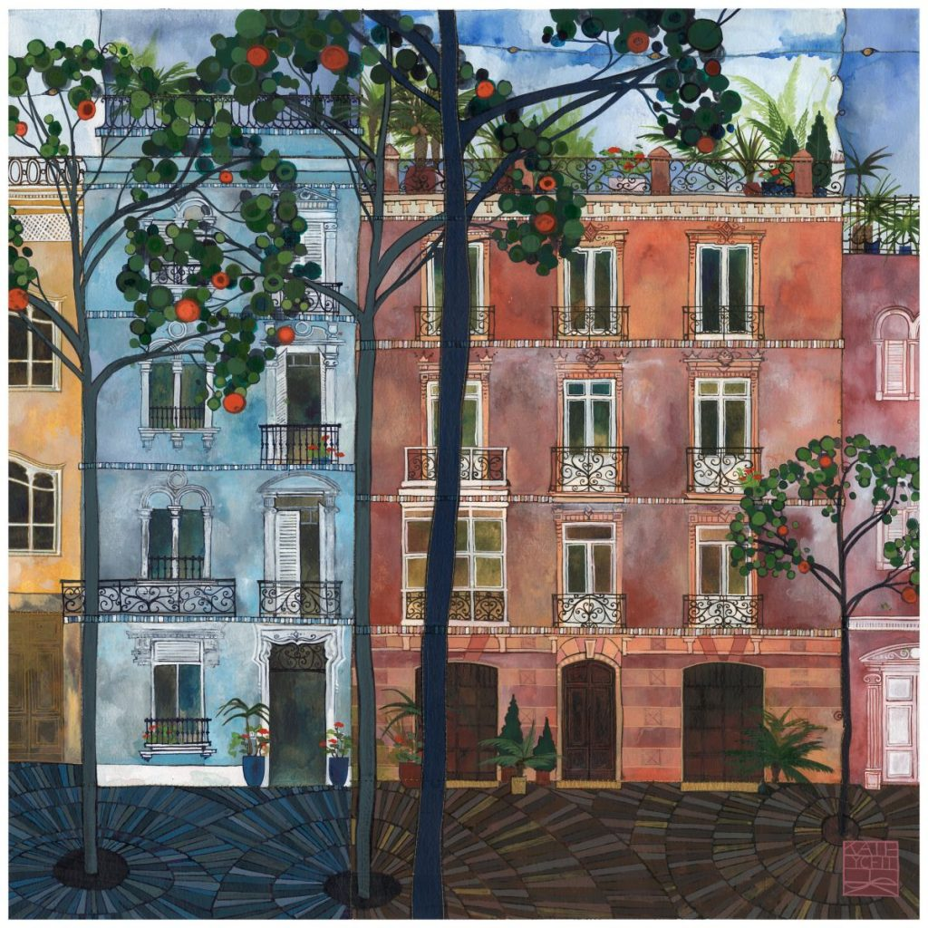 Kate Lycett - Orange Trees