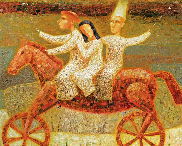 Arunas Zilys - Horse Riders