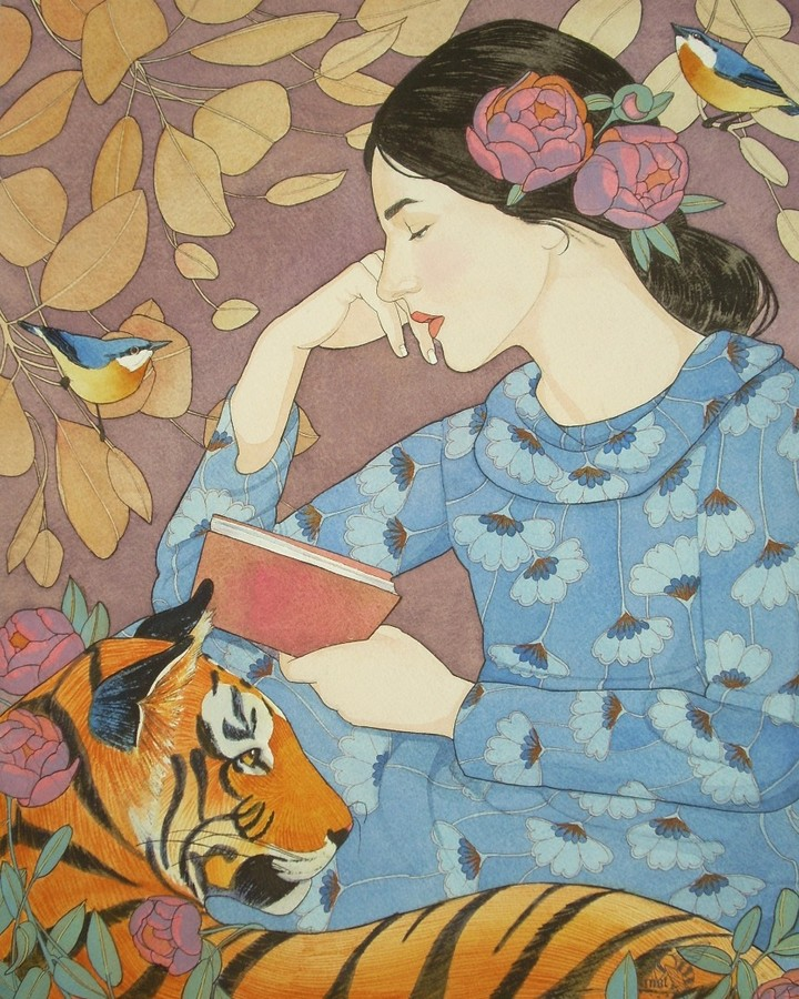 Mary Alayne Thomas - Even the Tiger Listened to Her Tale