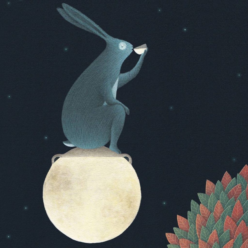 David Alvarez - Rabbit on the moon