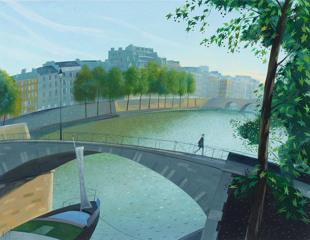 Nicholas Hely Hutchinson - Crossing the Seine – Paris