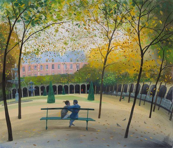 Nicholas Hely Hutchinson - Place des Vosges