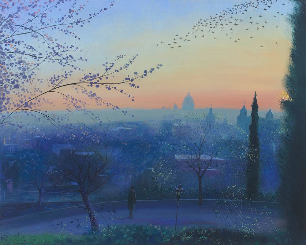 Nicholas Hely Hutchinson - The Last Evening in Rome