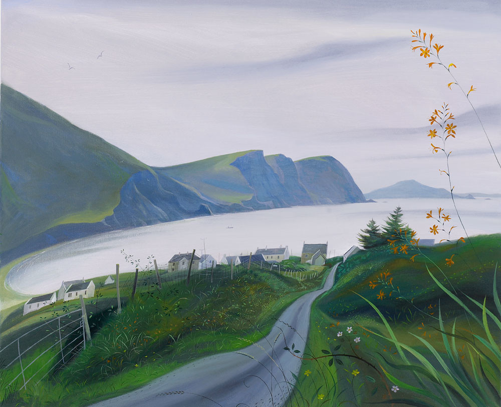 Nicholas Hely Hutchinson - Towards the Menawn Cliffs