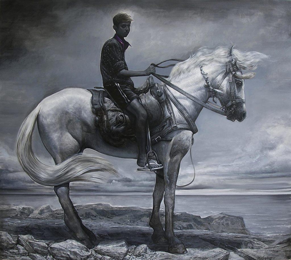 Mathieu Nozieres - Boy on horse