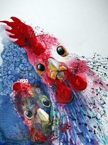 Violeta Damjanovic-Behrendt-Roasted Chicken with Potatoes