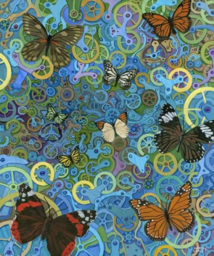 Randal Huiskens - Clockwork Butterflies No. 9