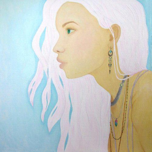 Yuliia Ustymenko - Salty breeze. Oil painting