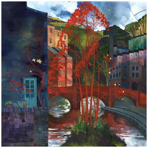 Kate Lycett - Red Leaves